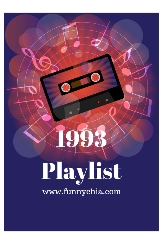 Playlist includes Rich Mullins, Phil Collins, Michael W Smith, DC Talk, Steven Curtis Chapman and Geoff Moore & The Distance