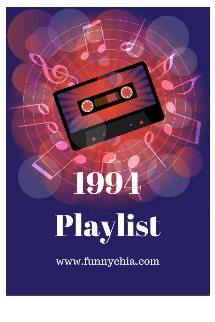 Playlist includes Meat Loaf, White Heart, DC Talk, Geoff Moore & The Distance, and Garth Brooks